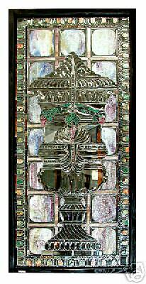 Stained Glass Window, with Beveled Glass #5507 2