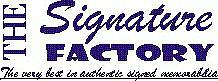 The Signature Factory