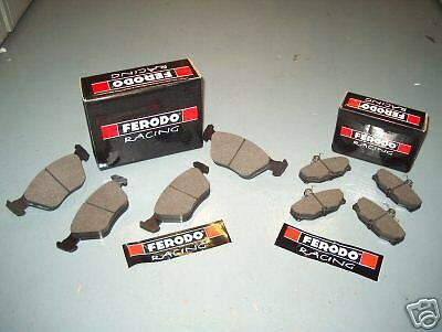 FERODO DS2500 FRONT  REAR BRAKE PADS ALL 4WD COSWORTH