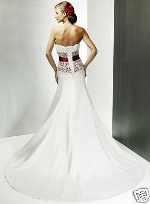1 sur 2Seulement 2 disponibles SUR MESURE! Jolie robe de mariée  colorée,dentelle M309 926cf5e18f7e